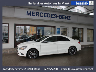 Mercedes-Benz CLA 180 | Night | Urban | Automatik | Navi bei BM || Mercedes Lessiak in 3240 Mank (Niederösterreich)