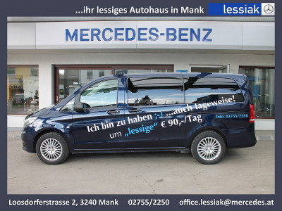 Mercedes-Benz Vito 116 CDI 4×4 lang | LED | Navi | 2.Schiebetür bei Neu-, Vorführ- und Gebrauchtfahrzeuge | Mercedes Lessiak  in 3240 Mank (Niederösterreich)