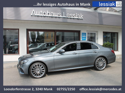 Mercedes-Benz E 220 d 4MATIC Austria Edition Aut. | AMG | Distronic | Multebeam | Memory bei BM || Mercedes Lessiak in 3240 Mank (Niederösterreich)