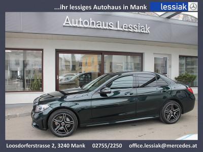 Mercedes-Benz C 200 d AMG Line bei BM || Mercedes Lessiak in 3240 Mank (Niederösterreich)